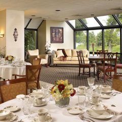 North Solarium Dining Room - For an elegant dining experience.