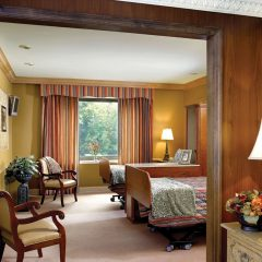 Semi-private room - Includes an array of world-class amenities.