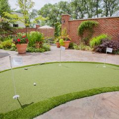 Therapeutic Putting Green - Practice your short game during your rehabilitation stay.