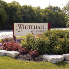 Welcome - Arrival at Whitehall of Deerfield on Waukegan Road.