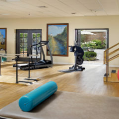Rehabilitation gym - State-of-the-art gym to help you reach your highest level of independence and functioning.