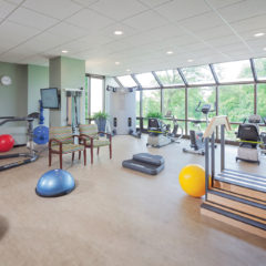 Elective Orthopedic Pavilion Gym  - The state-of-the-art rehabilitation gym in our exclusive wing for those recovering from joint replacement and elective orthopedic surgery.