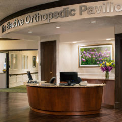 Welcome to the clinical excellence and comfort of the Elective Orthopedic Pavilion Spa – for those recovering from joint replacement and elective orthopedic surgery.
